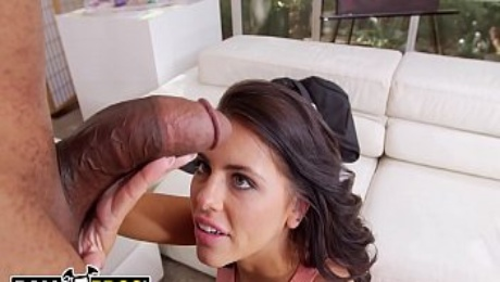 BANGBROS - MILF Adriana Chechik Battles A Monster Cock And Wins